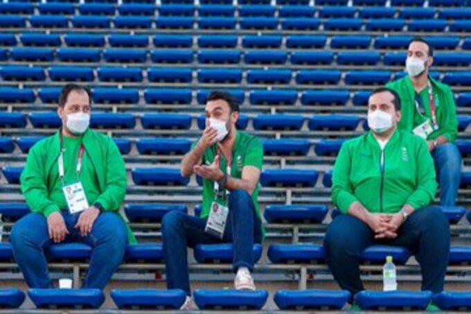 وزير الرياضة لـ نجوم الأخضر الأولمبي: موفقين يا أبطال