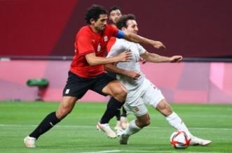 أحمد حجازي لاعب منتخب مصر الأولمبي
