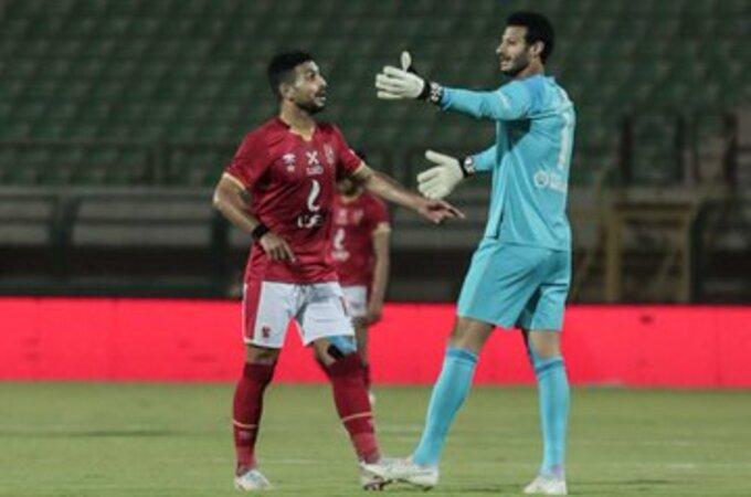 محمد الشناوي مع أيمن أشرف