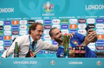 روبيرتو مانشيني مع بونوتشي