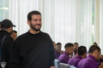 فهد بن نافل في معسكر الهلال