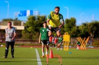 تدريبات الأخضر الأولمبي استعدادًا لـ كوت ديفوار
