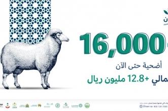 إحسان: عدد الأضاحي يتجاوز 16,000 أضحية - المواطن