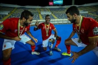 لاعبو الأهلي المصري