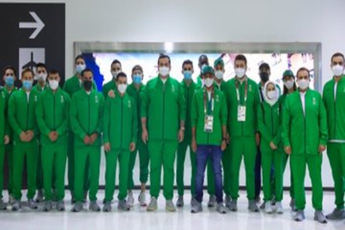 وفد السعودية في أوليمبياد طوكيو