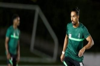 سالم الدوسري لاعب المنتخب السعودي الأولمبي