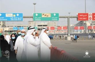 وزير الحج المكلف يتفقد جاهزية ساحة منشأة الجمرات - المواطن