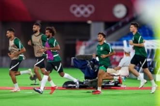 عبدالله الحمدان لاعب المنتخب السعودي