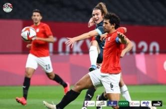 أحمد حجازي لاعب الاتحاد بلقاء مصر والأرجنتين