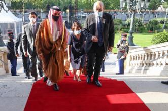 وزير الخارجية يعقد جلسة مباحثات رسمية مع نظيره الفرنسي - المواطن