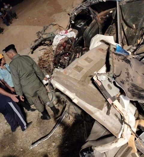وزير داخلية الأردن يقدم واجب العزاء بوفاة مواطنين سعوديين بحادث مروري