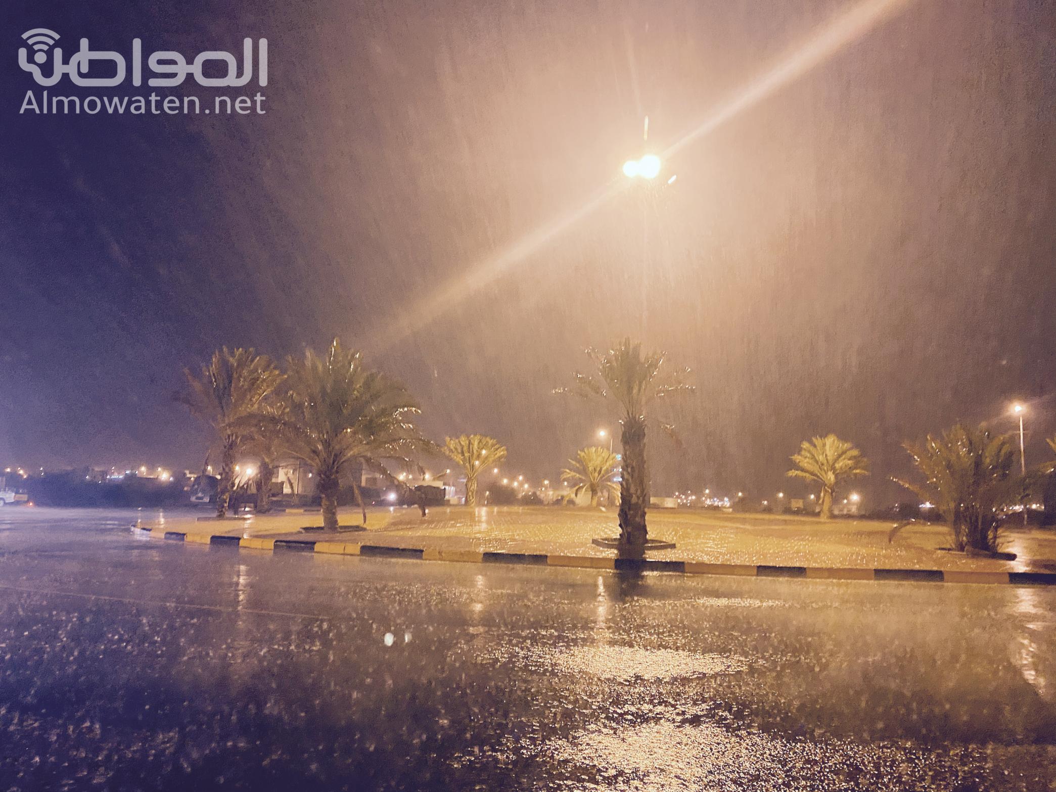 أمطار غزيرة ومتوسطة على خميس مشيط وأحد رفيدة - المواطن