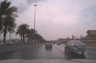 تصادم عدة مركبات بسبب الأمطار على الدائري الشرقي بالرياض - المواطن