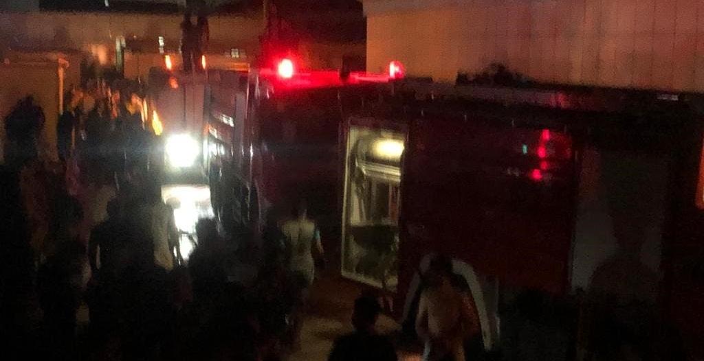120 قتيلاً وجريحاً حصيلة حريق مستشفى الناصرية بالعراق