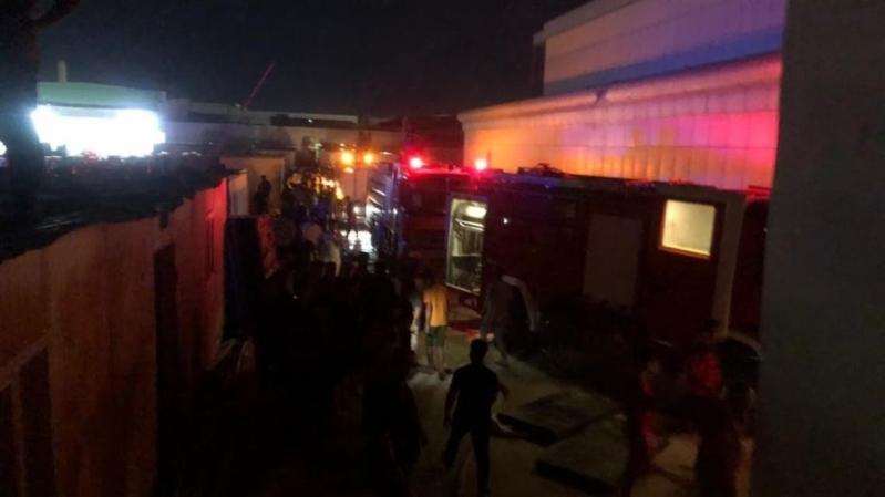 120 قتيلاً وجريحاً حصيلة حريق مستشفى الناصرية بالعراق - المواطن