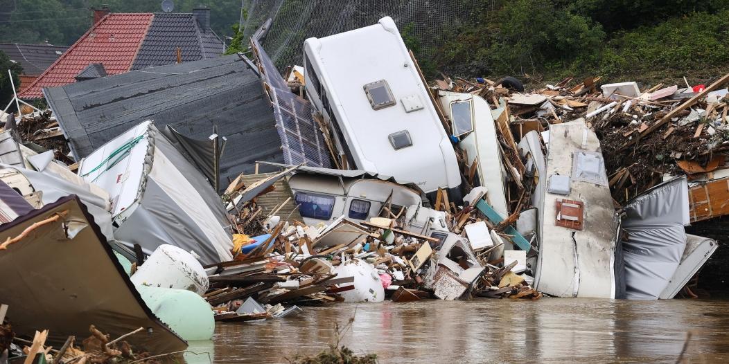 ارتفاع حصيلة فيضانات ألمانيا لـ 170 شخصًا واستبعاد العثور على ناجين