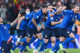 منتخب إيطاليا - مباراة إنجلترا وإيطاليا