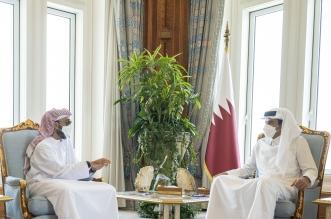 أمير قطر يستقبل وفداً إماراتياً برئاسة طحنون بن زايد - المواطن
