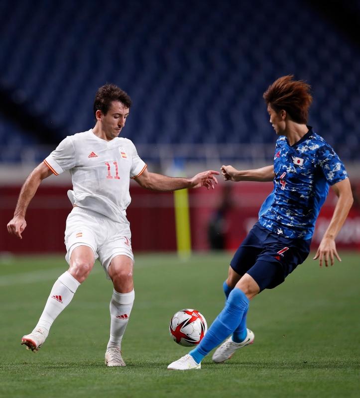إسبانيا ضد اليابان