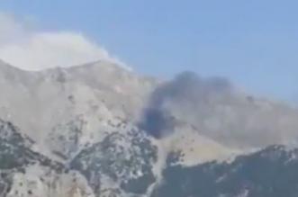 تحطم طائرة إطفاء تركيا
