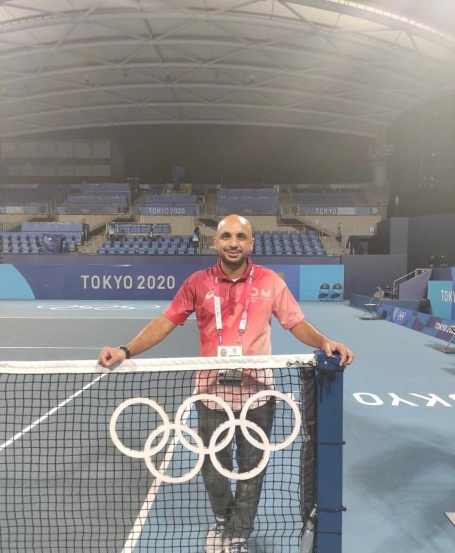 جاسم عقاقة في أولمبياد طوكيو