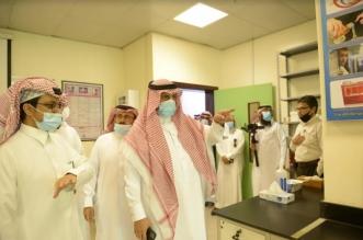 جولة رئيس جامعة الملك خالد