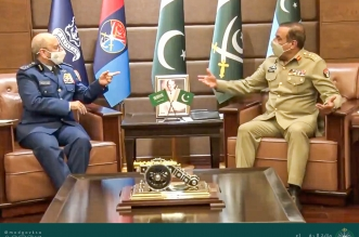 رئيس هيئة الأركان يبحث تعزيز التعاون مع نظيره الباكستاني - المواطن
