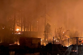 شاهد حريق كاليفورنيا يدمر مدينة عمرها 150 عاما في ساعتين