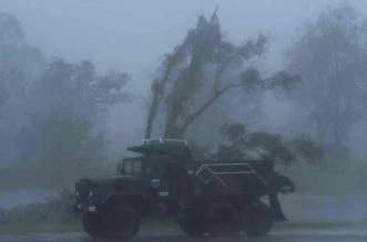 شاهد مدينة أمريكية كاملة تغرق في الظلام بسبب إعصار إيدا