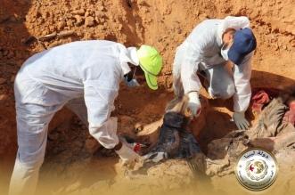 مقبرة جماعية في ليبيا