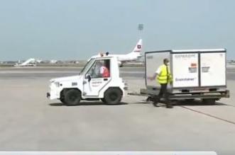 مشاهد من نقل اللقاحات إلى المستشفيات من دعم المملكة إلى تونس - المواطن