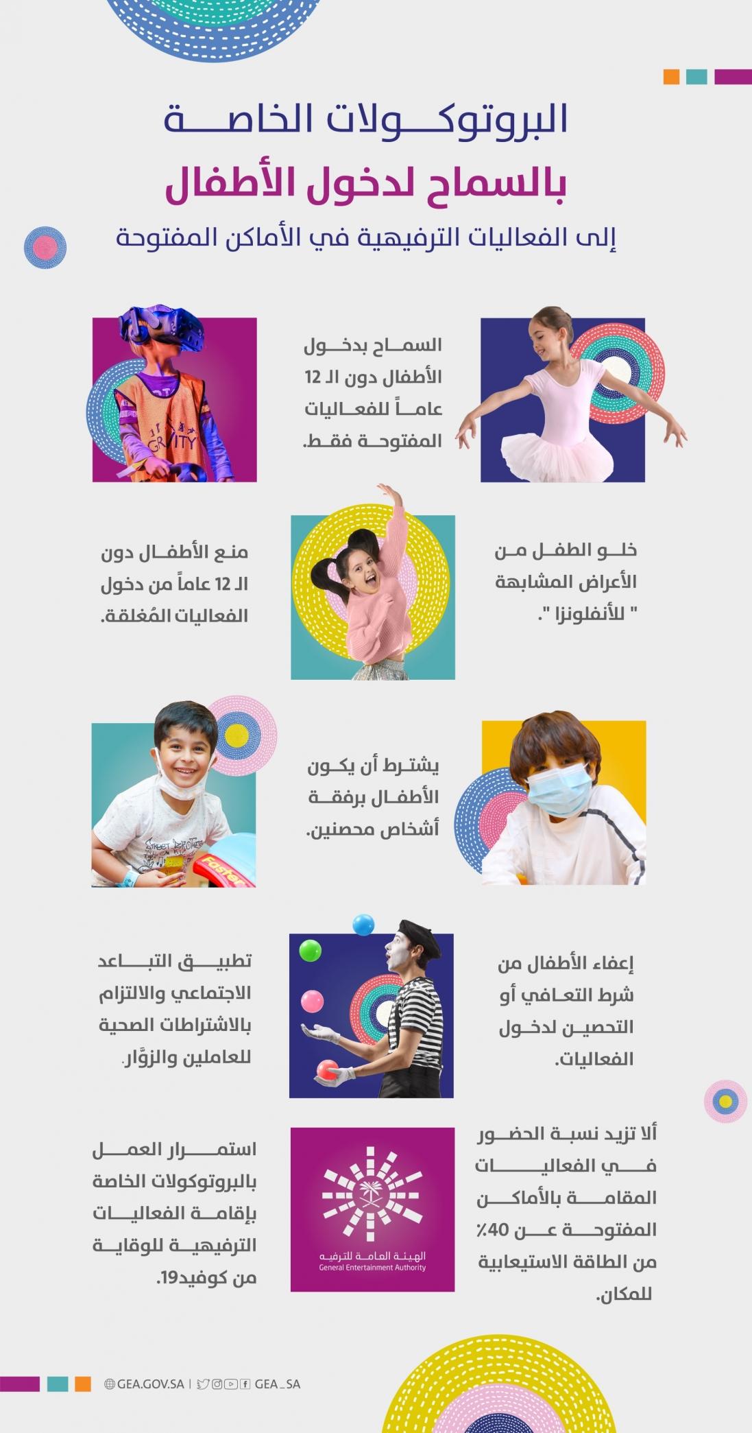 هيئة الترفيه الاطفال