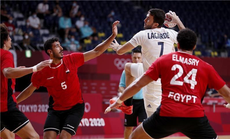 منتخب مصر لكرة اليد يخسر أمام فرنسا بـ طوكيو 2020