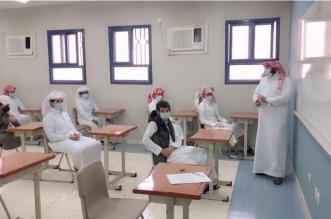قادة المدارس بأحد رفيدة يتابعون تطبيق الإجراءات الاحترازية - المواطن