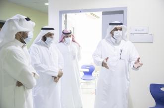 رئيس جامعة حفر الباطن يتفقد استعدادات العودة الحضورية