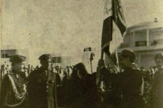 صورة تاريخية لافتتاح أول كلية عسكرية بالمملكة - المواطن