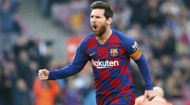 ليونيل ميسي لاعب برشلونة السابق