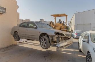 أمانة جدة ترفع 168 سيارة مهملة وتالفة خلال شهر - المواطن