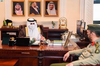 أمير تبوك يستقبل مدير جوازات المنطقة - المواطن