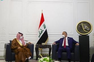 وزير الخارجية يستعرض العلاقات الثنائية وسبل تعزيزها مع رئيس وزراء العراق - المواطن