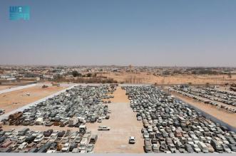 أمانة الجوف وبلدياتها ترفع 2400 سيارة تالفة لمعالجة التشوّه البصري - المواطن