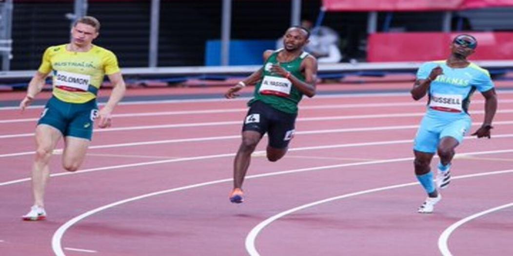 مازن الياسين رابعًا في سباق 400 متر بـ أولمبياد طوكيو