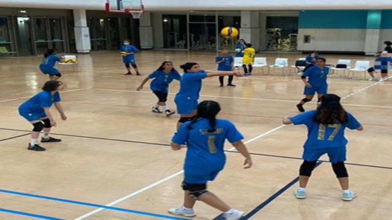 فريق كرة الطائرة النسائي بـ النصر