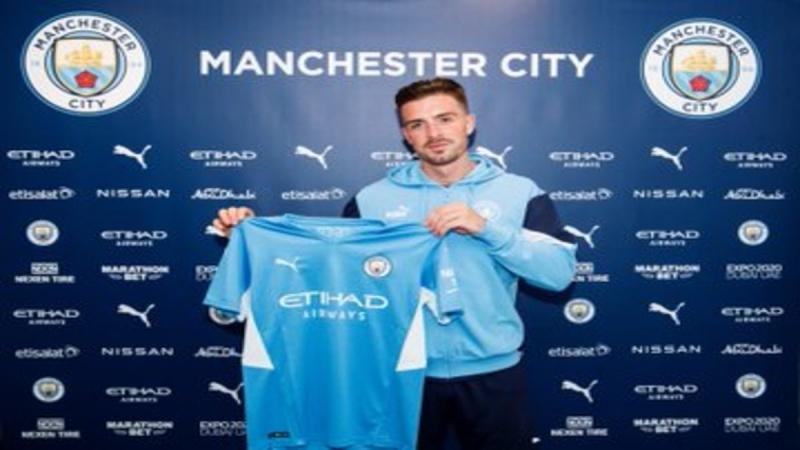 جاك جريليش لاعب مانشستر سيتي الجديد