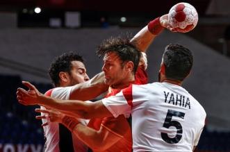 منتخب مصر أمام إسبانيا - كرة اليد - أولمبياد طوكيو