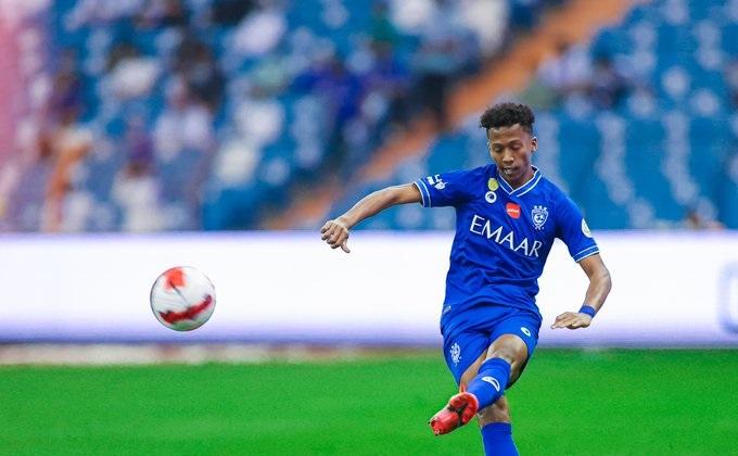 ناصر الدوسري لاعب الهلال