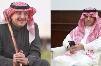 رئيس النصر وخالد بن فهد
