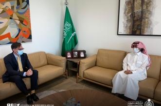 السفير الدوسري يستعرض العلاقات الثنائية مع مسؤول أمريكي - المواطن