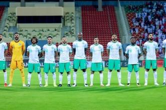 المنتخب السعودي ضد عمان