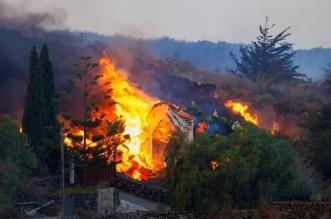 بركان يدمر مئات المنازل في جزيرة بالما الإسبانية - المواطن